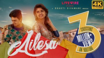 Ailesa – Official Music Video – 4K   Balaji Radhakrishnan, Harija   A Shakti Sivamani Musical