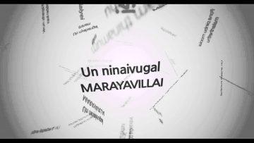 Marayavillai – V-sha feat. Nancy Anne (Official Lyric Video)