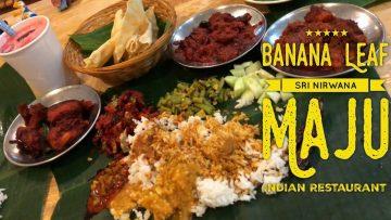 Cheap Eats Kuala Lumpur: Sri Nirwana Maju Banana Leaf Indian Restaurant Bangsar Village