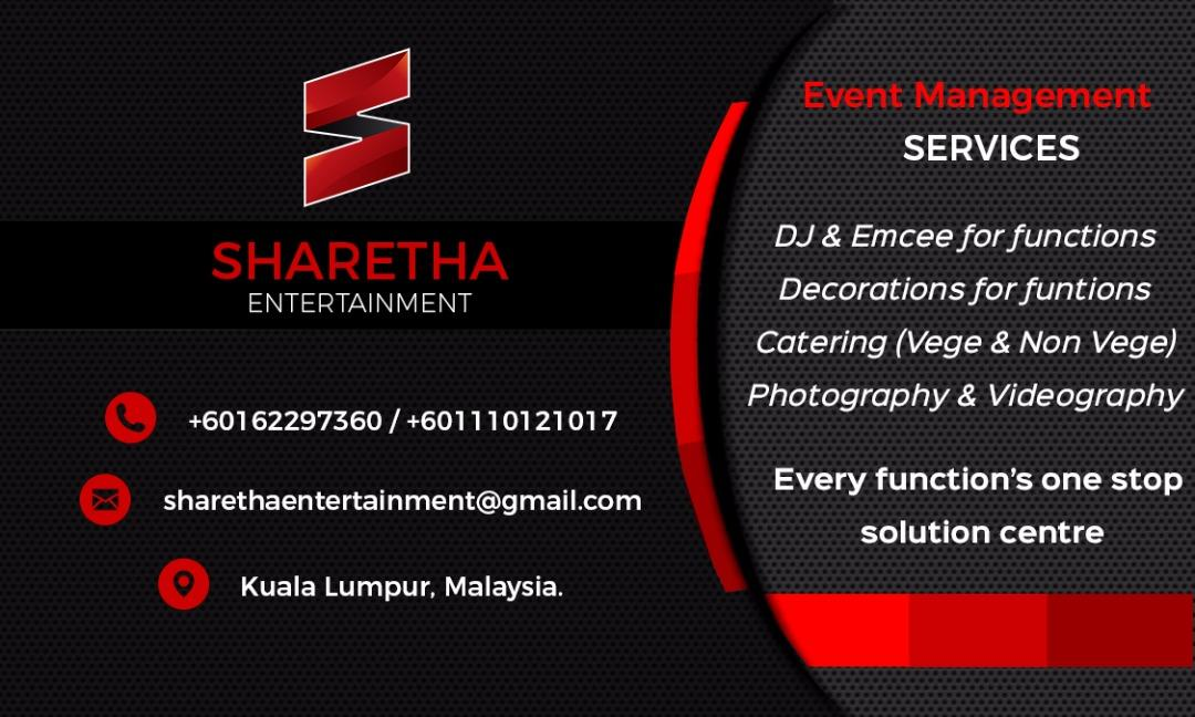 SHARETHA ENTERTAINMENT EVENT MANAGEMENT