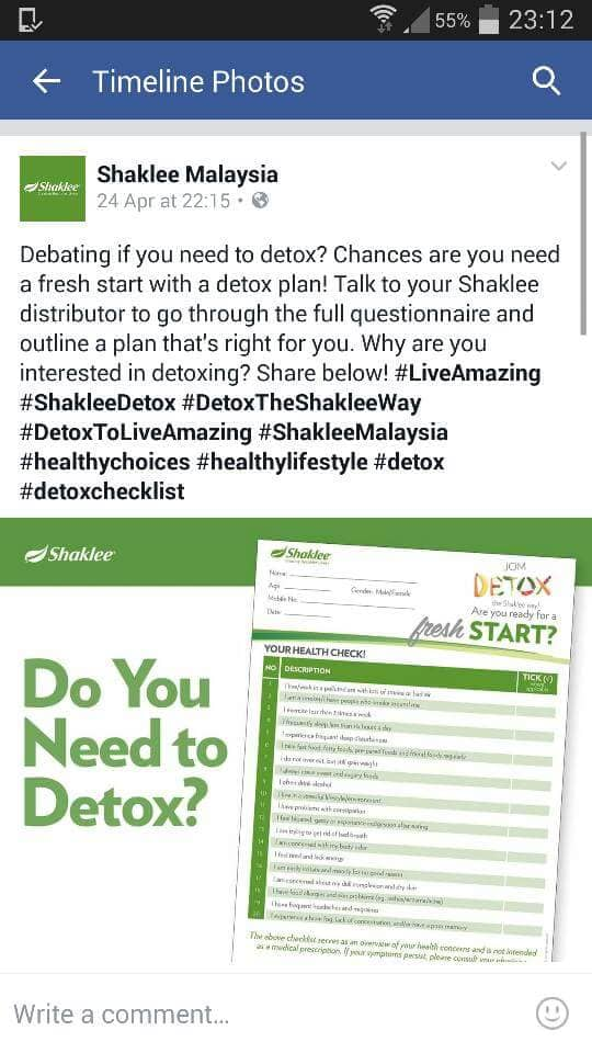 Shaklee Independent Distrbutor.