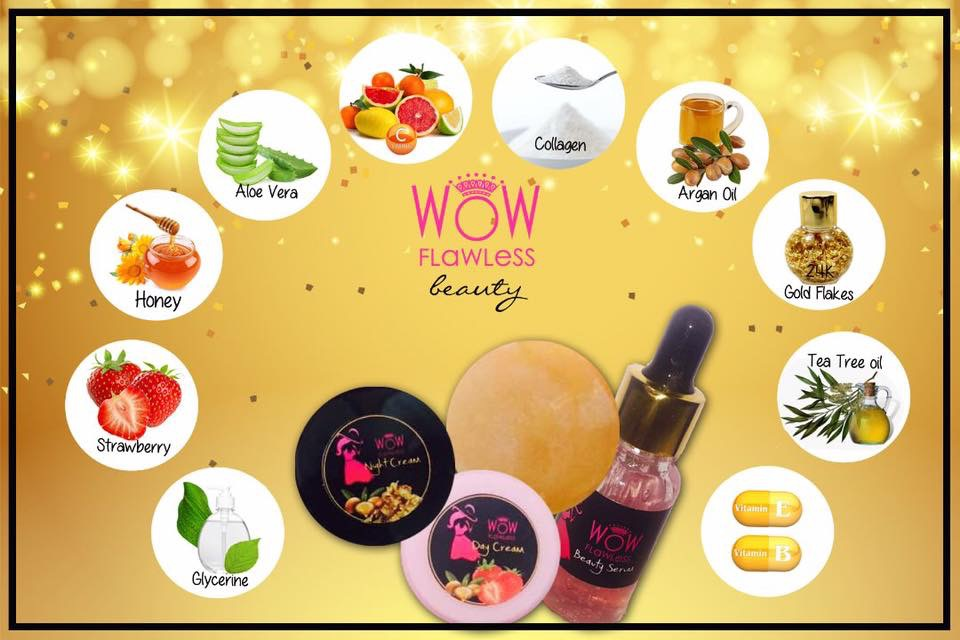 Wow Flawless Beauty Products Organic