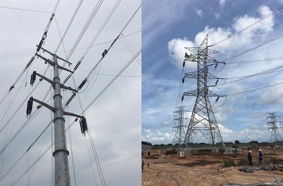 Overhead Power Transmission Line GMO