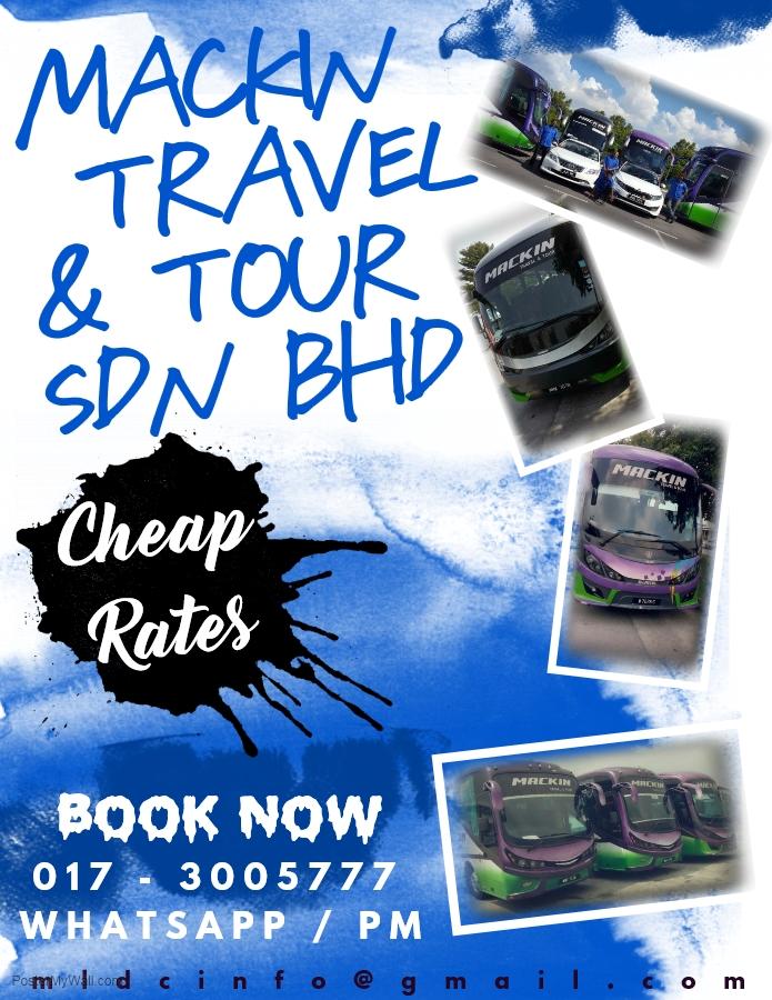 MACKIN TRAVEL & TOUR SDN BHD