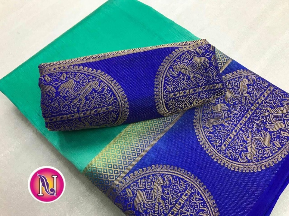 Raw Silk Saree – Rm80