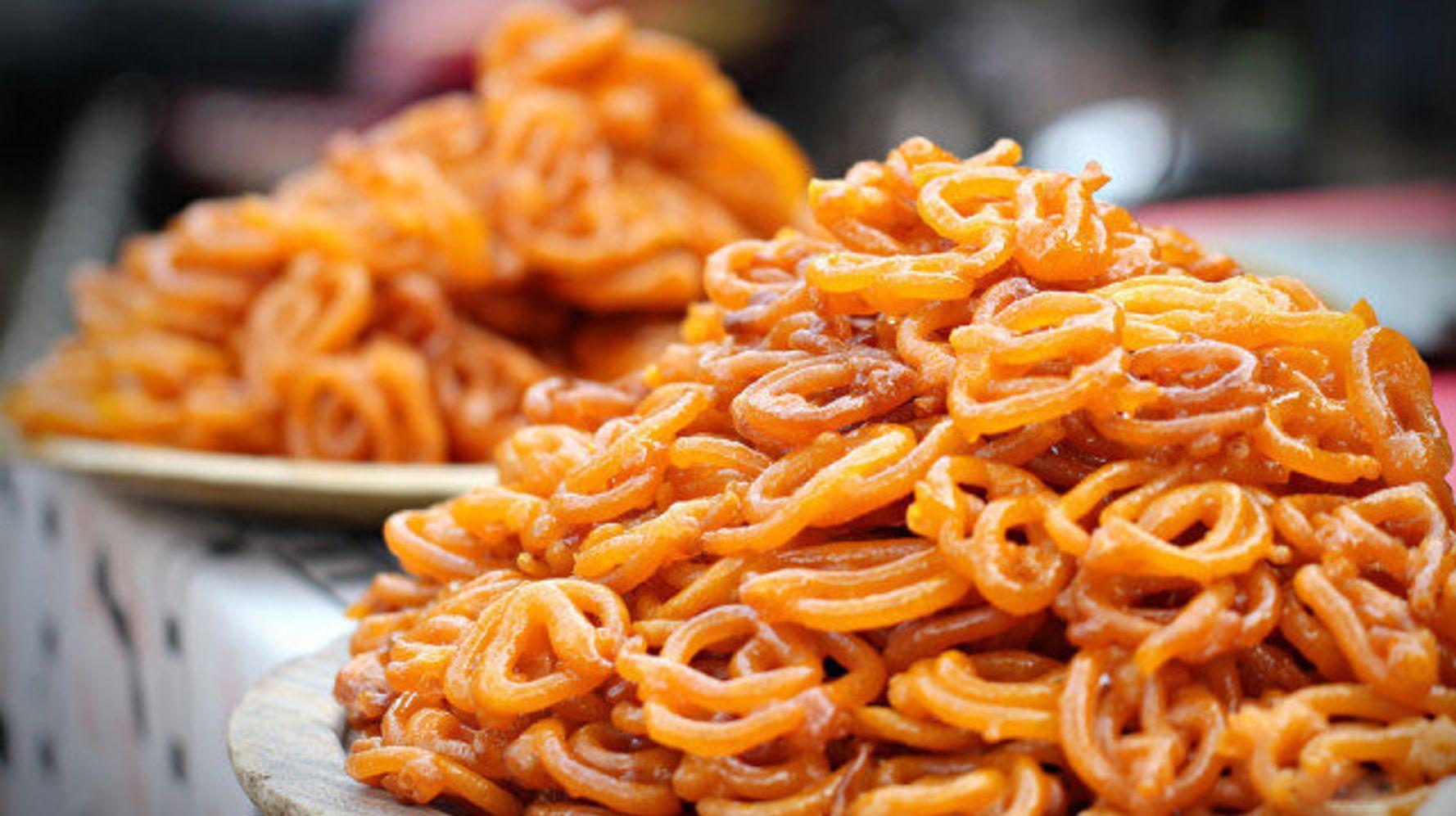Traditional Laddu, Jilebi, Sweets