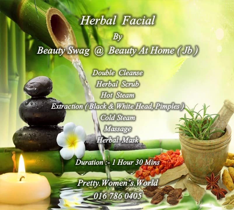 Beauty SWAG  Herbal Facial