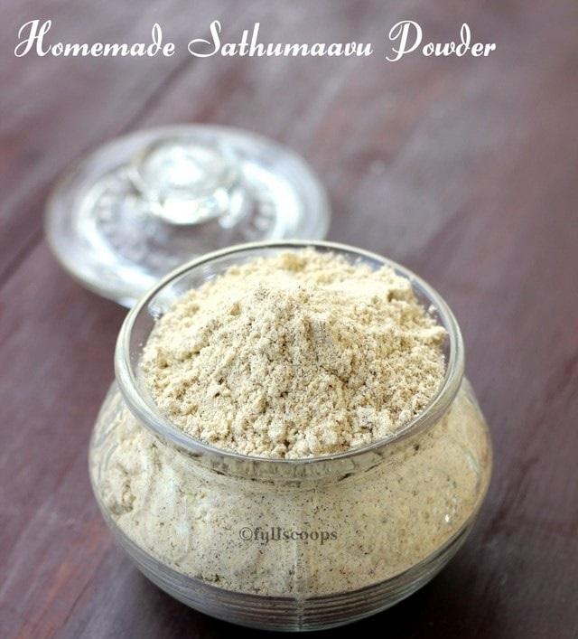 Sathumaavu or Multigrain powder – RM50