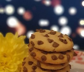 Crunchy Coffee Chip Cookies