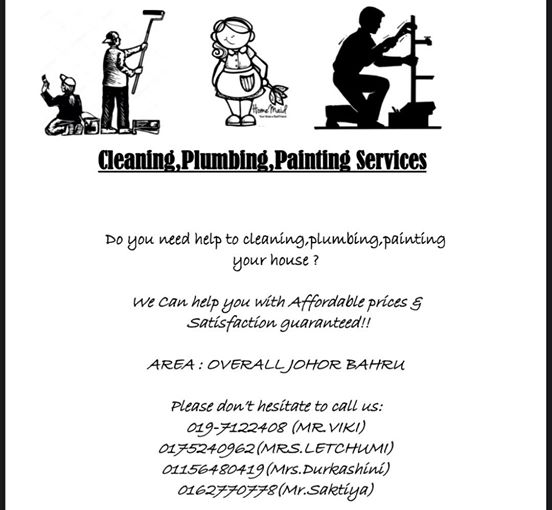 Cleaning Plumbing Painting Service